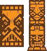 Block Tiki Totem