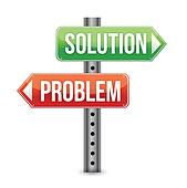 Fix Problem Images, Stock Photos & Vectors | Shutterstock |Problem Solved Sign