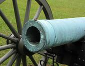 Close-up of Gettysburg Cannon