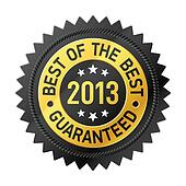 Best of the Best 2013 label