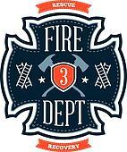Fire department emblem