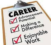 Career Checklist Priorities Goals Objectives in Work Profession