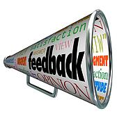 Feedback Megaphone Bullhorn Opinion Sharing