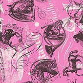 Horses Seamless Pattern