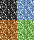 vector bubble wrap seamless background