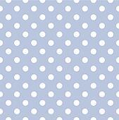 Vector polka dot blue background