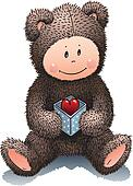 Teddy-Bear in love