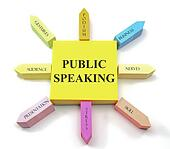 Public Speaking Sticky Notes