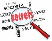 Searching for Secrets - Magnifying Glass Finds Clues