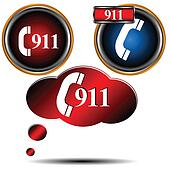 911 emergency set