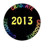 GRADUATE 2013 coloful