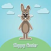 happy easter brown