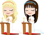 First Communion Prayer Girls