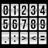 silver timetable numbers