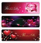 Fancy Valentines Banners