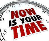 Now Is Your Time to Shine Clock Recognition You Deserve