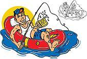 guy rafting