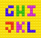 Lego blocks alphabet 2