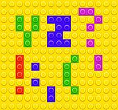 Lego blocks alphabet 5