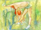 Erotic gymnastics