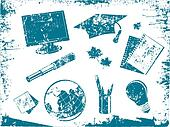 Grunge Education Tool Set