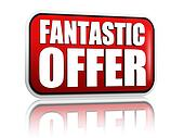 fantastic offer red banner