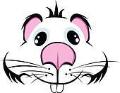 muzzle hamster