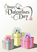 Valentine gift greeting card