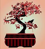 Bonsai red