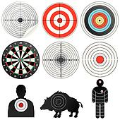 Set of Vector Targets and Dummies.