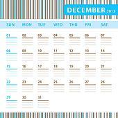 Planning Calendar - December 2013