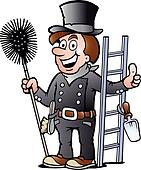 illustration of an Chimney Sweep