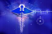 digital illustration of medical