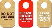 Do Not Disturb Sign Set