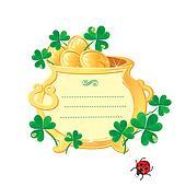 St. Patrick's design-frame is made