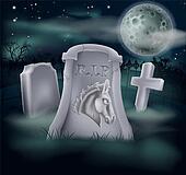 Death of Democrat Party Concept