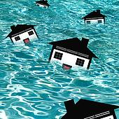 Housing Market Drowning (CONCEPT)