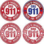 Call 911 for Police Fire & Medical
