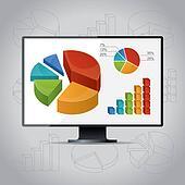 Charts On Monitor