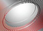 Abstract background with oval.