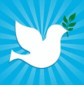 dove peace symbol olive branch
