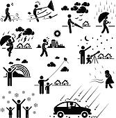 Weather Climate Atmosphere People