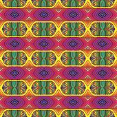 70s vector psychedelic seamles pattern with stripes