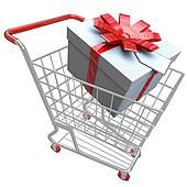 Present in Shopping Cart