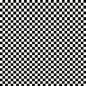 Illustration of grunge checker boar