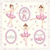 Ballerina Clip Art - Royalty Free - GoGraph