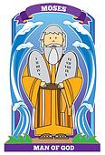 MOSES - Man of God - Bible Character