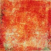 Highly detailed orange grunge background or paper with vintage texture
