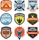 Outdoor emblems