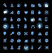 Straight Line Icons